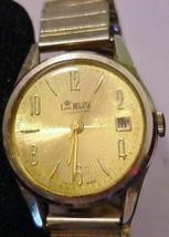 Vintage Lord Nelson Calendar Men's Watch Hand-wind Swiss Working - $59.35