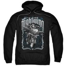 Batman - Nightwing Biker Adult Pull Over Hoodie Officially Licensed Apparel - $36.99+