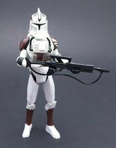 Star Wars ™ - 2008 Hasbro - Clone Trooper with Space Gear Action Figure 21 - $17.25