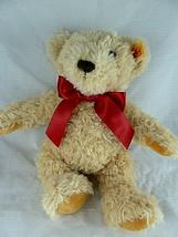 """Steiff Teddy Bear Plush Beige Latte color 10"""" Soft cuddly Modern - $29.69"""