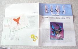Warner Bros. Gallery Newsletter 1997 Pepe Le Pew Batman + - $15.99