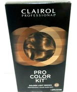 Clairol Professional Pro Color Kit Hair Color Golden Light Brown 5G NEW! - $3.98