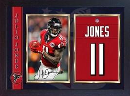 Julio Jones autographed NFL signed Atlanta Falcons Framed - $19.27