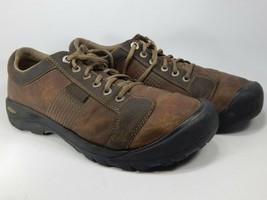 Keen Austin Sz US 12 M (D) EU 46 Men's Lace-Up Oxford Casual Shoes Brown 1007722