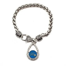 Inspired Silver Morehead State University Eagles Teardrop Silver plated ... - $590,81 MXN