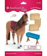American Girl Crafts 3D Chestnut Horse Stacked Stickers  SEALED - $6.64