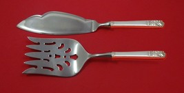Mansion House by Oneida Sterling Silver Fish Serving Set 2 Piece Custom HHWS - $127.40