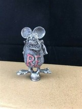 Rat Fink Car Hood Ornament, Rat Rod Hot Rod, Ed Big Daddy Roth, Kustom K... - $70.00