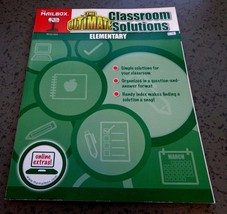 The Ultimate Classroom Solutions : Elementary by The Mailbox new book te... - $13.98