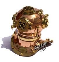 Valentine Copper Scuba Diving Helmet Divers US Mark Navy Premium Decor/G... - £37.41 GBP