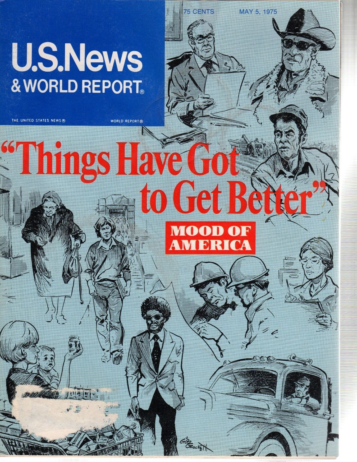 Primary image for U.S. News & World Report May 5, 1975 Things Have Got to Get Better