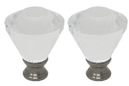 "Urbanest Crystal Diana Lamp Finial, 2"" Tall image 5"