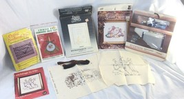 Cross Stitch & Embroidery Kits Lot Of 6 Precious Moments Heirloom Vintage - $18.80