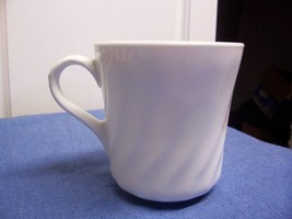 Corelle Enhancements Swirl White Cup Mug Lot of 2 - $7.49