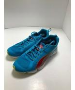 Puma Fitness Ortholite Womens 8.5 Brite Blue And Red Nice!! - $22.75