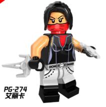 PG8079 Hero Elektra Natchios Lego Minifigure Building Block 1 PC A - $4.50