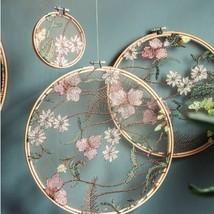 Bamboo embroidery display rack - $11.50