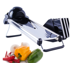 Manual Vegetable Cutter Slicer Kitchen Tools 5 Stainless Heavy Duty Stee... - €52,38 EUR