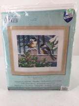 "DIY Kits Counted Cross One Stitch Kit PN-0021668  ""Winter Birds"" 11.6""X9... - $28.04"