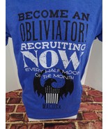 Loot Crate Fantastic Beasts Become An Obliviator Recruiting Now T Shirt ... - $12.49