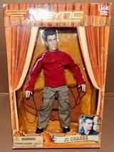 JC Chasez  2000 NSYNC Collectible Marionette Doll Living Toyz NIB 166K - $9.49
