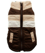 Urban Pup Quilted Dog Gilet Brown - $31.63