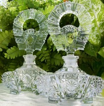 Matching Pair of Vintage Perfume Bottles~Mint ~6 Inches Tall~A Collector... - $159.99
