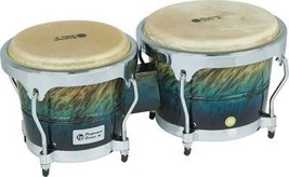 LP Performer Series Bongos with Chrome Hardware Blue Fade - $199.98