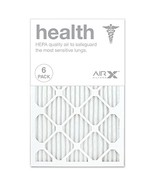AIRx HEALTH 16x25x1 MERV 13 Pleated Air Filter - Made in the USA - Box of 6 - $37.35