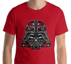 Darth Vader Sugar Skull Star Wars Logo Men's & Women's Unisex T Shirt, S... - $22.99+