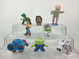 Toy Story 8pc Lot Small PVC Figures Toppers Buzz Woody Scud Lenny Toys D... - $22.23