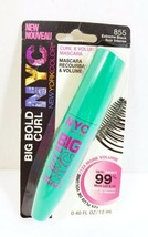 NYC Curl Big Bold Mascara Extreme Black 855 Volume & Curl Eye Makeup  - $8.90