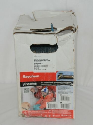 Raychem Frostex Plus 628393 Pipe Heating Cable 500 Foot Spool