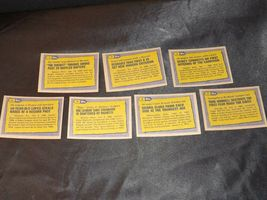 AA11986 Topps Baseball LOT 7 Cards '86 RECORD BREAKERS MINT Vintage AA19-BTC4000 image 5