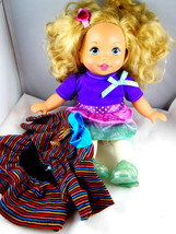 """Little Mommy 14"""" Sweet as Me Doll w beautiful soft curly blond hair Jell... - $29.69"""