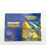 Bionic Commando Instruction Manual NES Nintendo Entertainment System - $24.18