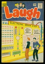 Laugh #137 1962-ARCHIE COMICS-SUPERHERO Issue -THE FLY-good - $25.22