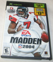 Madden NFL 2004 Xbox, 2003 Football EA Sports, E-Everyone U.S.A - $7.25