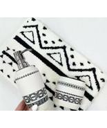 2PC Set Dispenser & Toothbrush Holder Boho Chic New Toothbrush Holder Ce... - $29.69