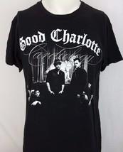 Good Charlotte Cardiology World Tour 2011 Black Concert Rock Shirt Size ... - $19.79