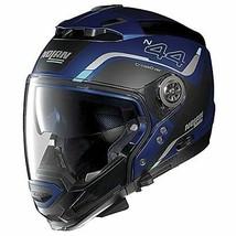 NOLAN 97587 helmet Blue S N44EVO VIEWPOINT 48 flat Cayman system JP - $554.91