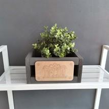 Decor box, wooden decor box, storage box, gift box - $29.50