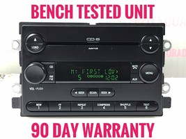 """""""FO413"""" 06 07 Ford Five Hundred 6 Disc CD Player Radio Receiver OEM - $87.37"""