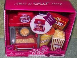 "Our Generation Retro Pop Pop Popcorn Set for Most 18"" Dolls New - $16.50"