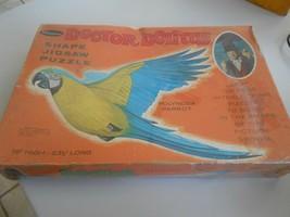 Vintage 1967 Whitman Doctor Dolittle Polynesia Parrot Puzzle Sealed Original Box - $19.80