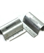 "Lot of 2 Aircraft Fuselage Aluminum J-Section Stringer 3"" Long x 2.5"" Wide - $19.35"