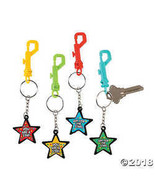 You're a Star! Backpack Clip Key Chains - $8.99