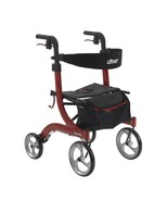 Drive Medical Nitro Euro Style Walker Rollator Red - $249.94