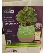 SonicIQ Bluetooth Color Changing Musical Flower Pot - Chose Color - $6.95