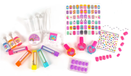 It's So Me Create Your Own Flavored Lip Balm + Cute Characters Nail Art Kit DIY image 2